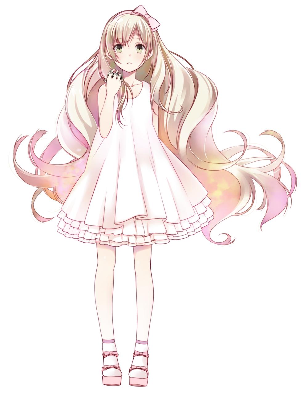Anime Girl Pretty Dress Www Pixshark Com Images