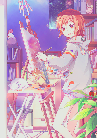 Gallery – Anime Art Lockscreen (Part 1) – Kaoruri