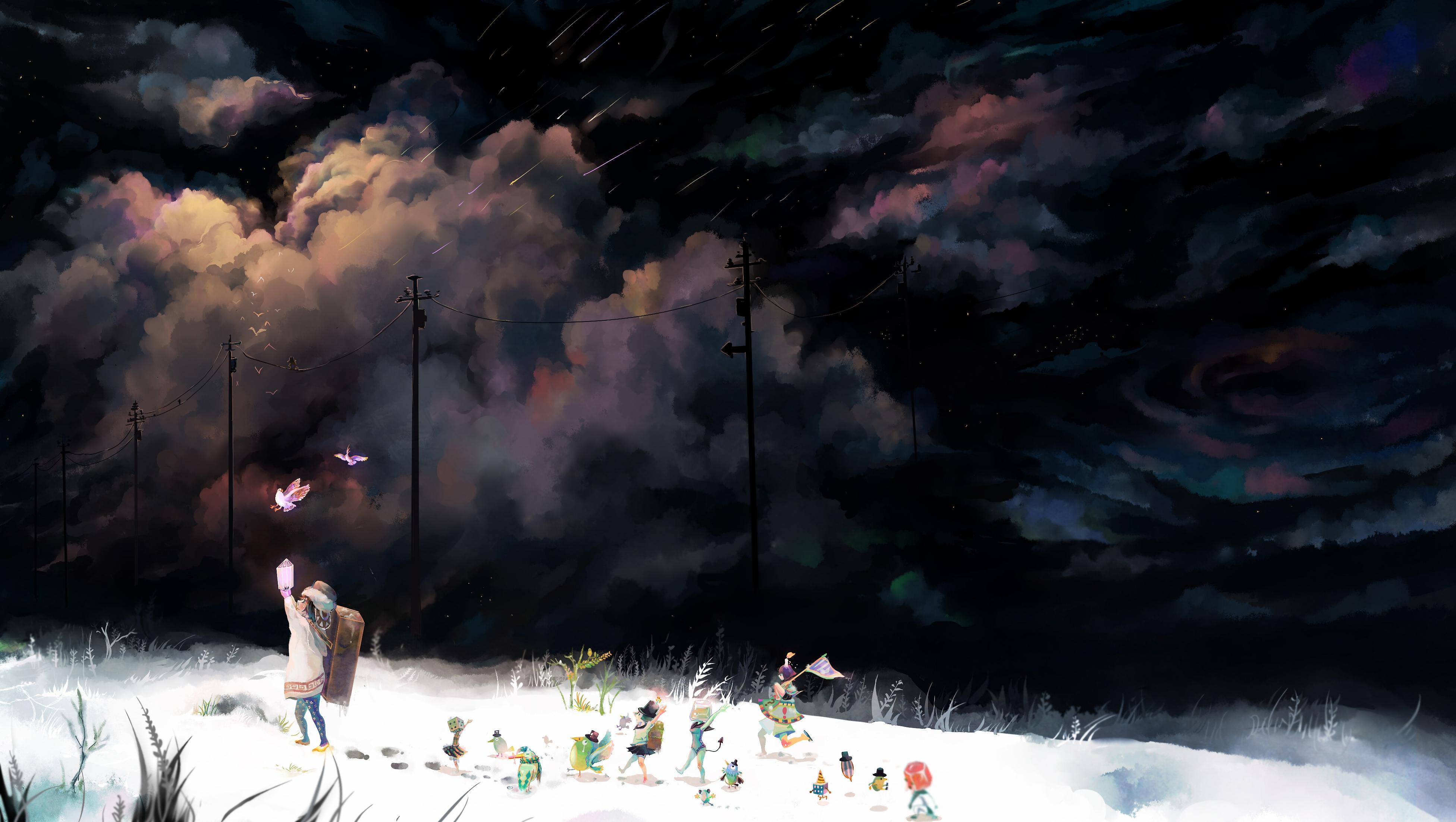 Gallery Anime Art Wallpaper Part  Kaoruri